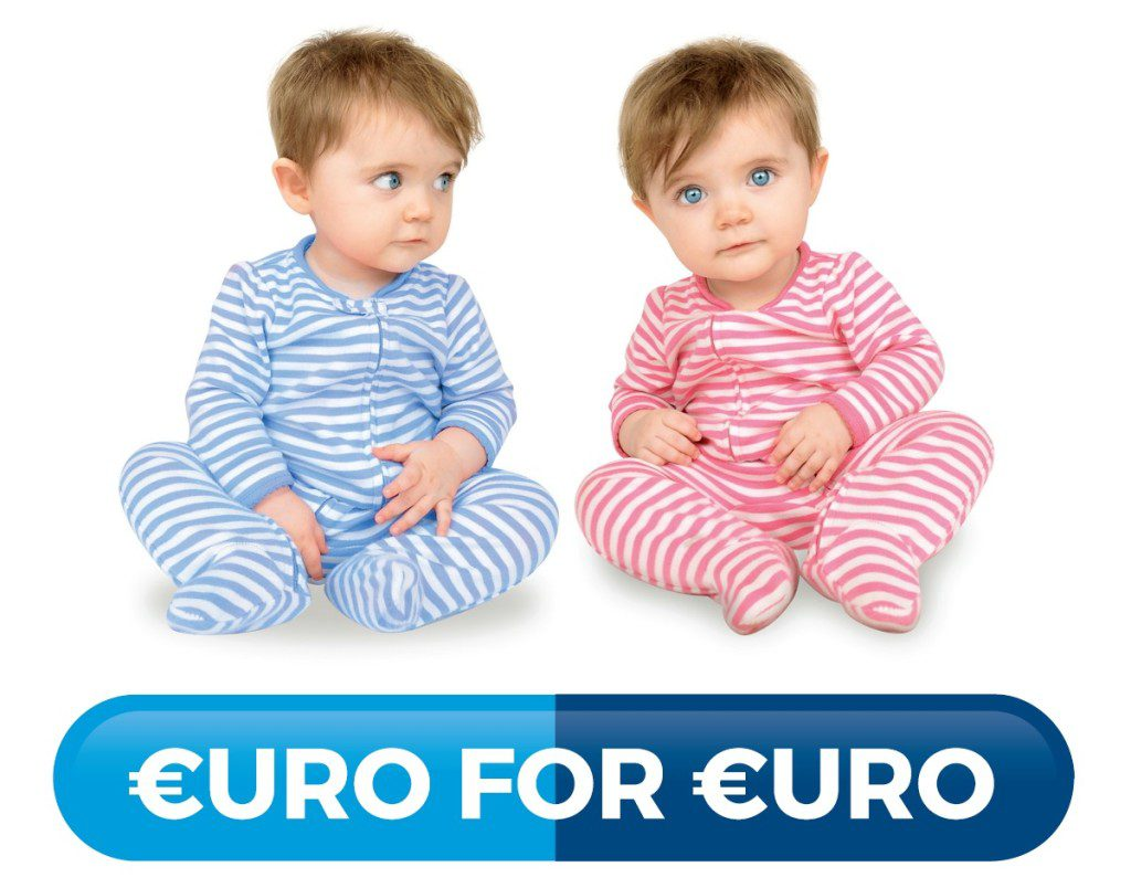 €uro for €uro Babies
